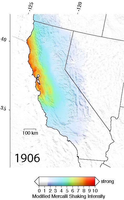 Comparing earthquakes