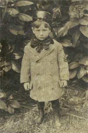 Phil's dad, Philip H. Litchenstein, in Golden Gate Park 1907.