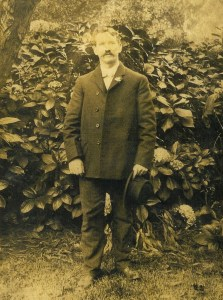 Phil's grandfather in Golden Gate Park, 1907.