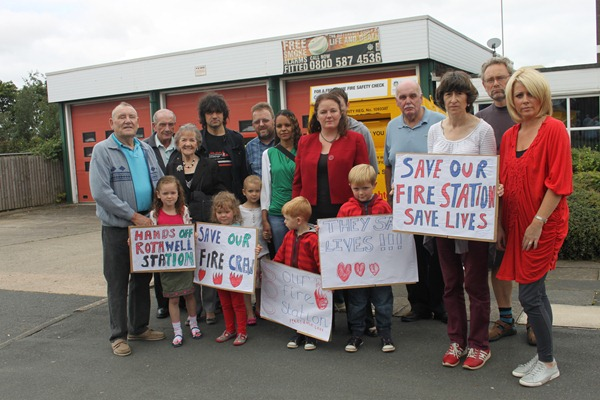 Save Rothwell fire station