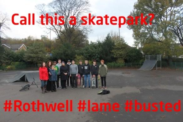 Rothwell skatepark
