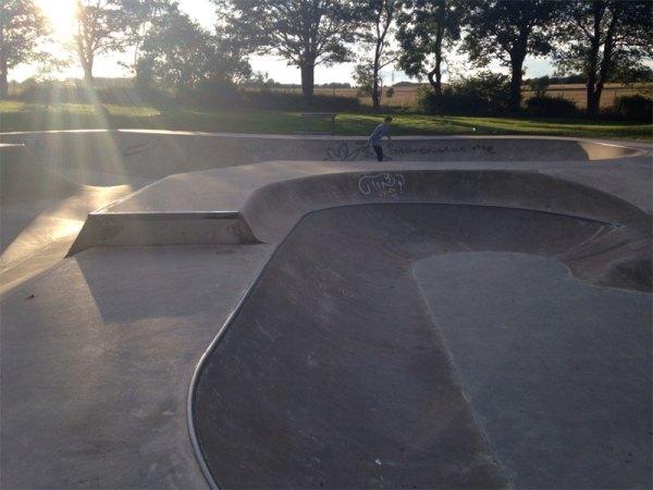 New Rothwell skate park photo