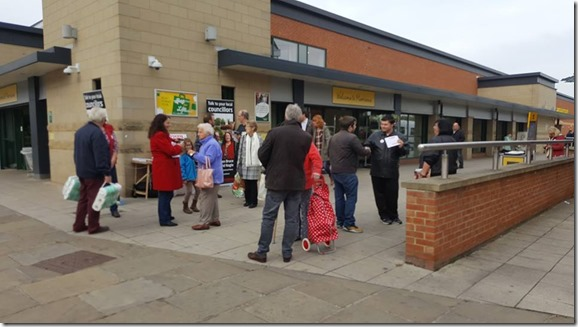 Morrisons talking to local people