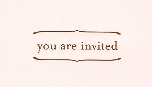 INVITATION ETIQUETTE (INVITEE)