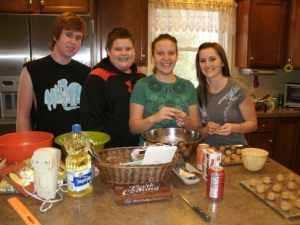 Mitch, Spence, Tracie and Kim