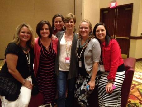 Got to hang for a bit with some of the P31 Online Bible Studies team of amazing women. They lead THOUSANDS of gals in online Bible studies each year.