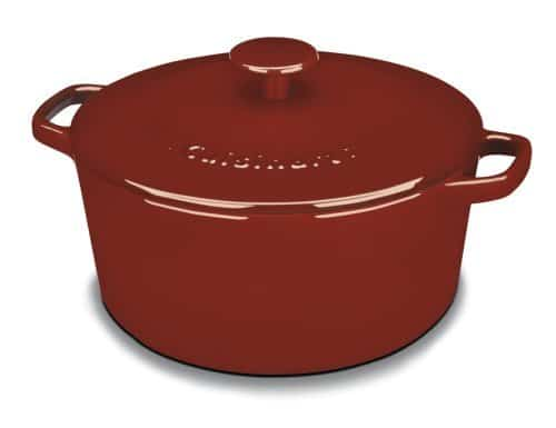 Cuisinart Enameled Cast Iron 5-Quart Round Covered Casserole