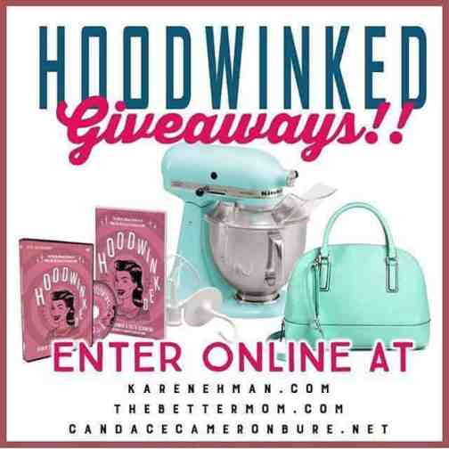 Enter to win giveaways for Hoodwinked launch week!