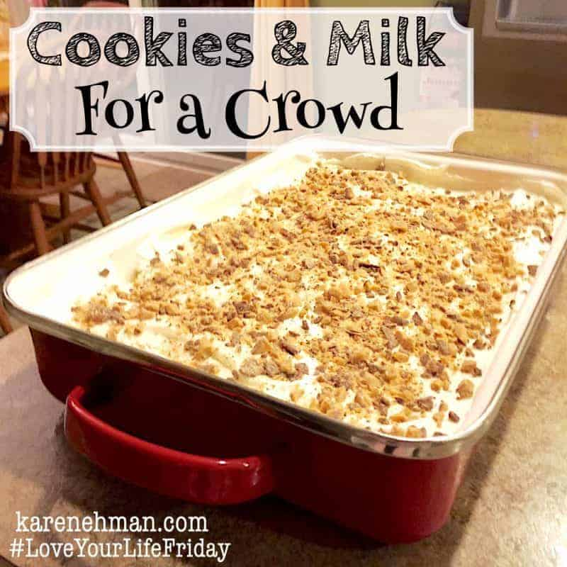 The easiest most delicious dessert ever karen ehman for Easy delicious christmas dessert recipes