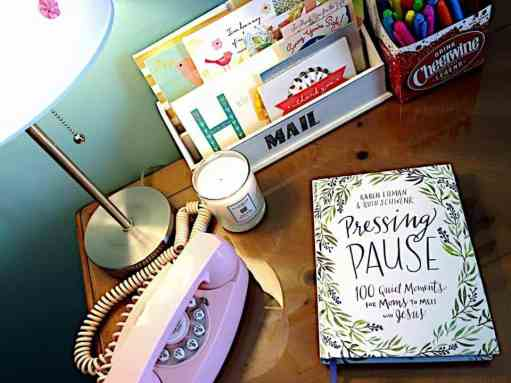 MOMS! Pressing Pause devotion now available! By Karen Ehman & Ruth Schwenk