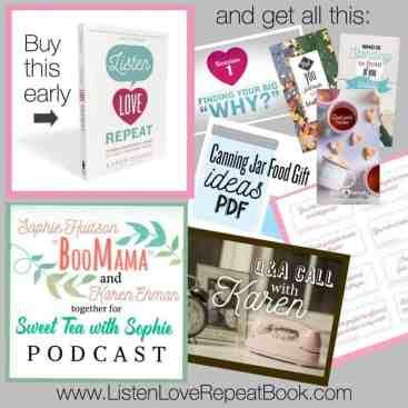 FREEBIE BUNDLE w/ purchase of Listen, Love, Repeat!