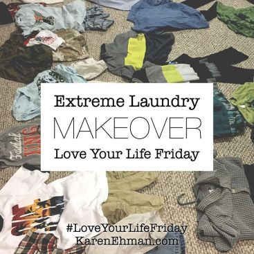Extreme Laundry Makeover by Lindsey Feldpausch for #LoveYourLifeFriday
