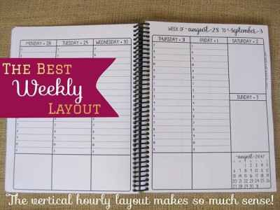 Day Planner by itsjustemmy at Throne of Grace on Etsy. Favorite planner of Karen Ehman.