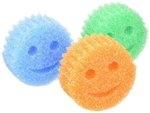 Scrub Daddy Color Sponge (3 Pack) ; 12 Fabulous Gifts for Friends at karenehman.com.