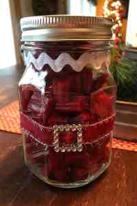 Mason Jar Gifts on Karenehman.com for #LoveYourLifeFriday by April Wilson