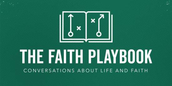 The Faith Playbook livestream event with Paul Tripp and Professional football players.
