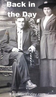 Paternal Grandparents-Robert and Bertha Clarkston