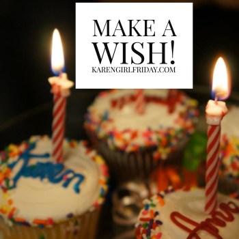 Birthday, courtesy of Adobe Spark