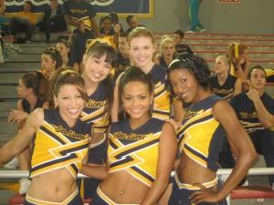 The Sea Lions main cheerleaders