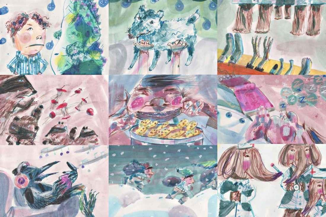Children's Illustrations by Karen HIbbard