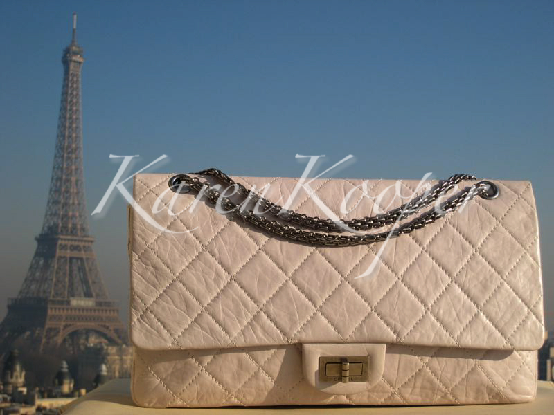 chanel 2.55 reissue bag on karen Kooper