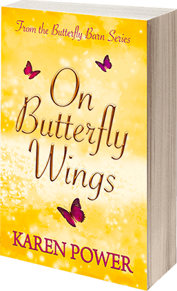On Butterfly Wings - Karen Power Author - Book