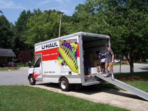 The Moving Process – Cleaning Out