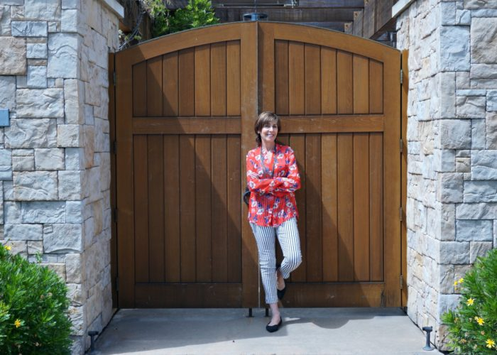 Five July 4th Outfits from One Red, White and Blue Print