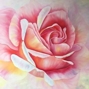 Soft Large Rose