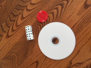 Portions: Dice, Pocker Chip, CD