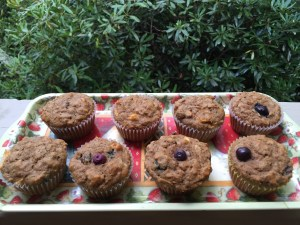 5 Week Bran Muffin, Fresh Fruit