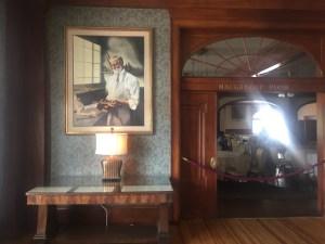 portrait F.O. Stanley, Stanley Hotel, Estes Park, Colorado