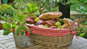 Thanksgiving, basket, autumn, bread, recipe