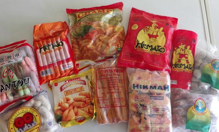 pengiriman barang frozen food