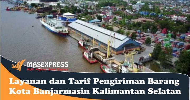 Jasa Ekspedisi Pengiriman Barang Kargo Banjarmasin Kalimantan Selatan