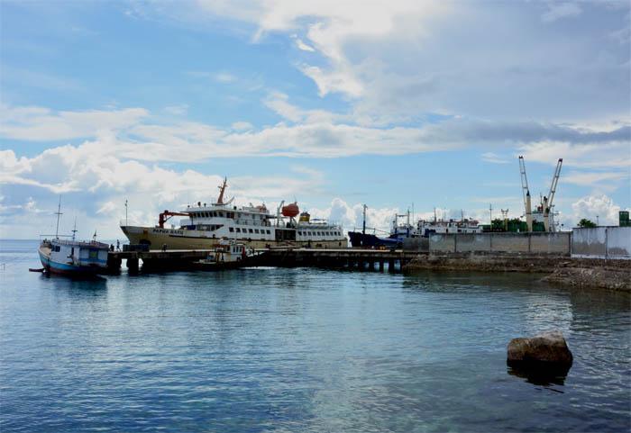 cargo pengiriman barang pelabuhan biak