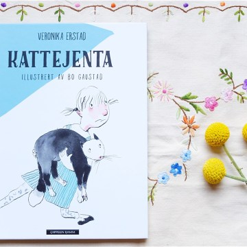 Barnebok: «Kattejenta» av Veronika Erstad
