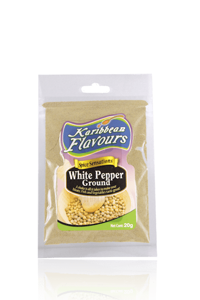 Spice Sensations-White Pepper Ground 20g
