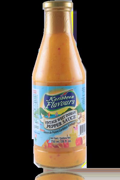 Vintage West Indian Pepper Sauce 750ml