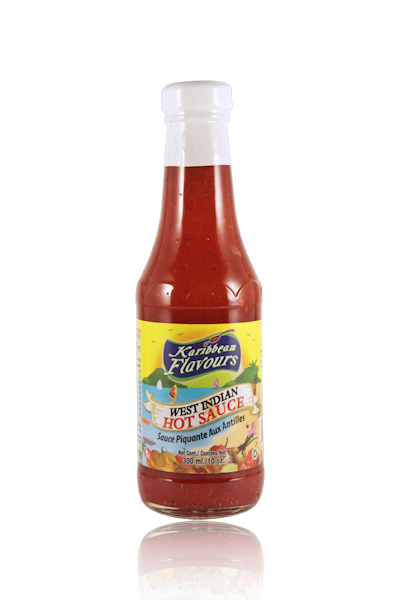 West Indian Hot Sauce 300ml
