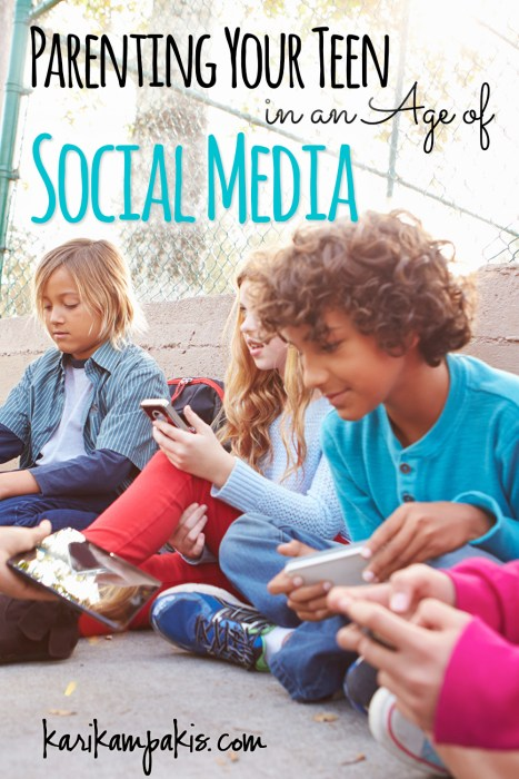 Parenting Your Teen in an Age of Social Media