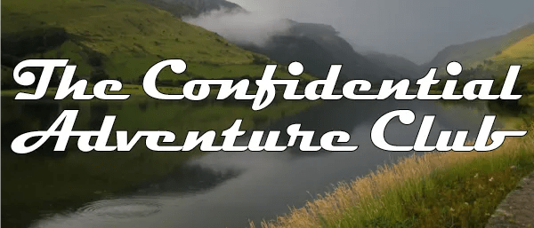 The Confidential Adventure Club header