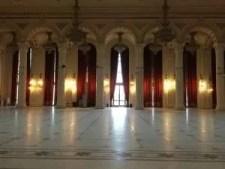 Bucharest parliament interior