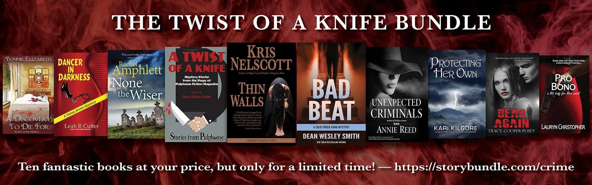 Twist of the Knife StoryBundle covers