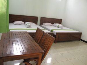 kamar paket wisata karimunjawa untuk 4 orang