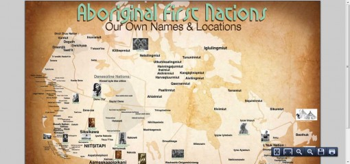 First Aboriginal First Nations Map Released Includes ...