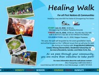 Healing Walk Takes Place for 2nd Year