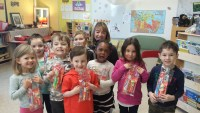 Kindergarten Students Learn About Dental Hygiene Through Science