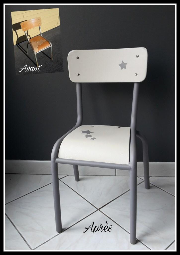 karine meteyer chaise enfant relookée saint nazaire
