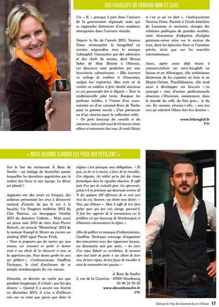 Magazine Tribu des Gourmets